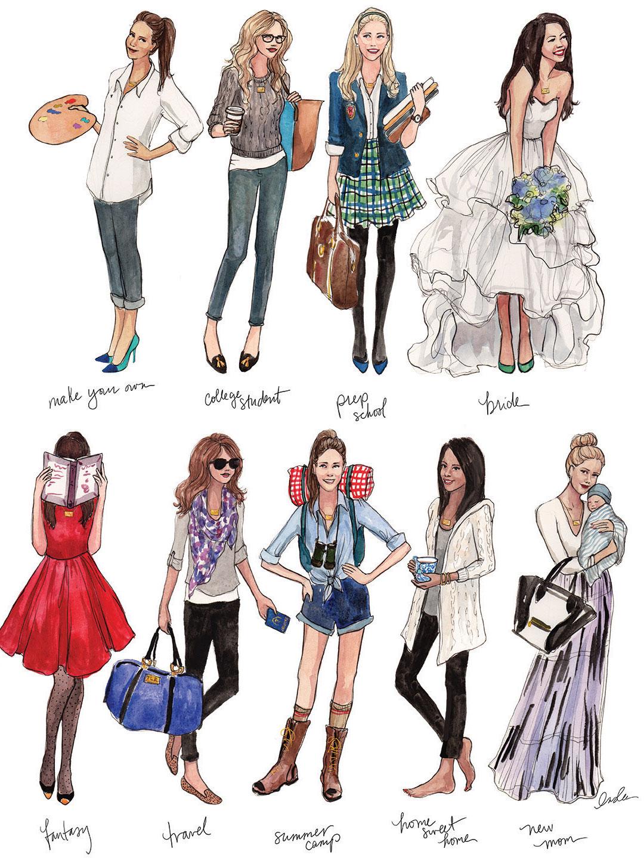 Рисунки про стиль