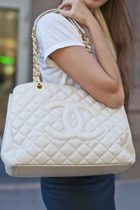 Chanel сумки white